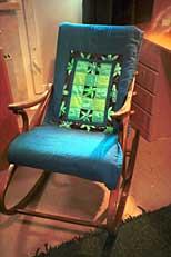 вернуться на страницу Творчество. кровельные... автор: Погудина Татьяна.  Печворк.  Накидка на кресло.