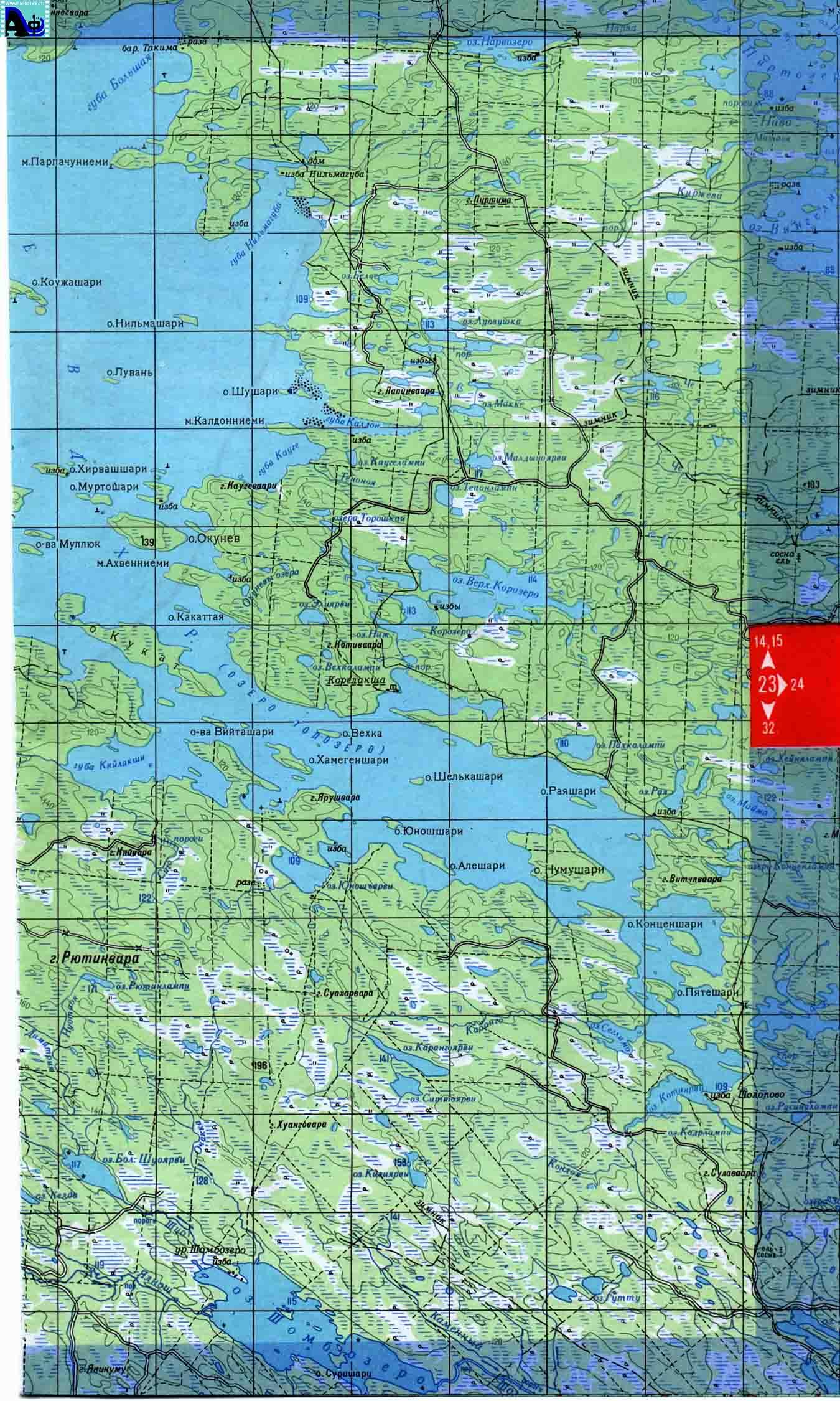 Домики для рыбалки в карелии на карте
